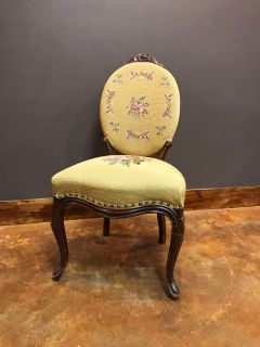Old world French antique chair