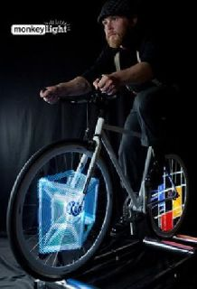Monkey Pro Light - Display Character In Your Wheels