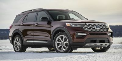 2020 Ford Explorer Limited FWD (Star White Metallic Tri-Coat)