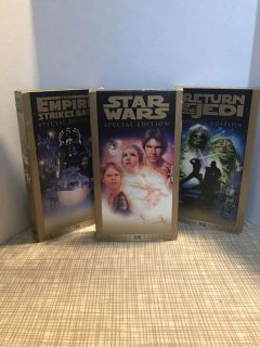 Star Wars Trilogy Set VHS Special Edition