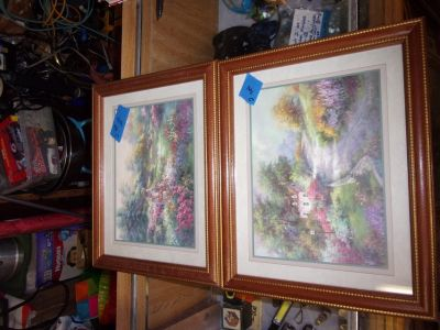 Set of Two Home Interior Framed Pictures