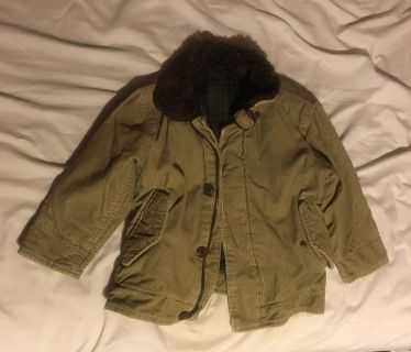 Fall Boys Coat - GAP - Size XS (4/5) - very good Condition