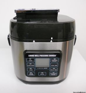 LIVING WELL PRESSURE COOKER
