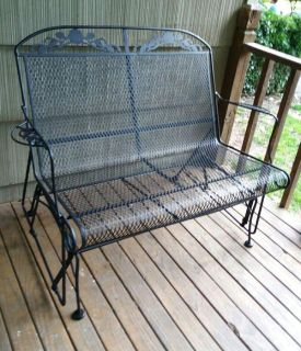 MEADOW CRAFT/WROUGHT IRON/GLIDER........NEW CONDITION