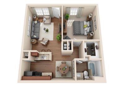 1 bedroom in Seabrook