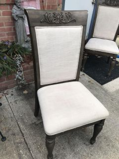 Sturdy dining chairs $25 each -4 available