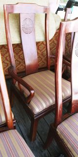 6 Cherry Wood Dining Room Chairs