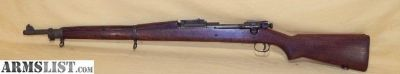 For Sale: Rare WWII USMC Springfield 1903 Rifle