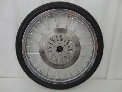 Purchase 1988-2010 Suzuki VS800 Intruder Front Wheel, Rim, Tire, Brake Rotor, & Axle 3153 motorcycle in Kittanning, Pennsylvania, US, for US $49.99