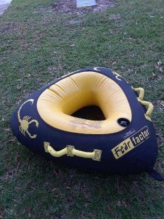 Fear Factor Inflatable Towable inner tube