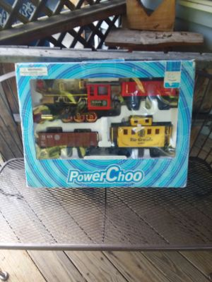 Train set excellent condition used under Christmas tree