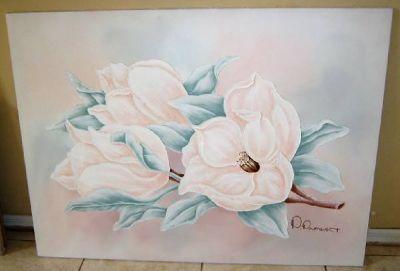 Original P.Pinault Oil Painting