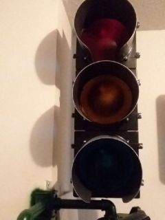 "3 section, 12"" Head traffic signal"