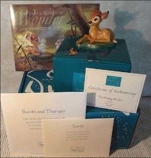 """Disney's WDCC """"Young Prince"""" Bambi Figurine"""