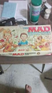 Old Mad Magazine board game (complete) released in 1979