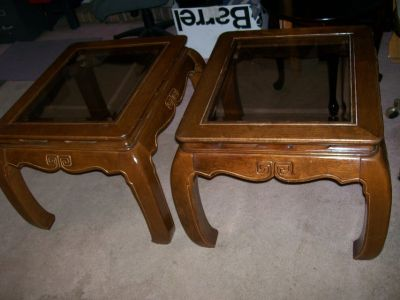 BROYHILL END TABLE SET