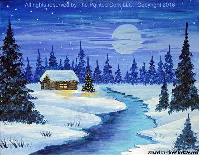 Sacramento Studio 12/11:Winter Cabin ~ $5 Off!