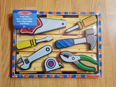 Melissa And Doug Wooden Tool Puzzle