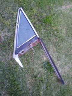 CUTLASS 1968 68 Convertible outer vent window frame #9712547 LH GLASS AC RARE