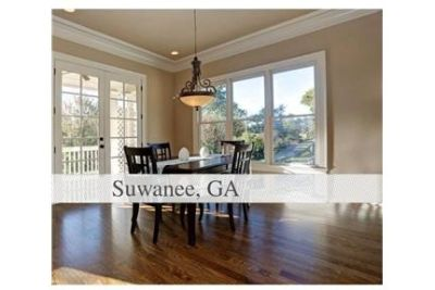 CHARMING newly built Craftsman style home in Old Town Suwanee.