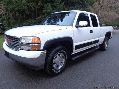 2002 GMC Sierra 1500 White Truck