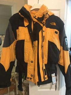 Jacket and pants the North face