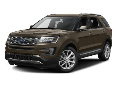 2016 Ford Explorer Limited (Silver)