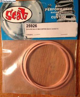 Scat 25926 Copper Head Gaskets Rings 90.5/92mm NEW