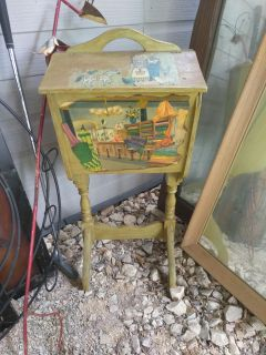Adorable sewing table, side table