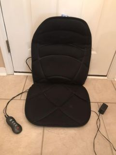 Back massager with heat