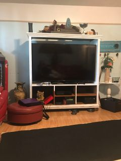Free tn entertainment center ( tv not included)