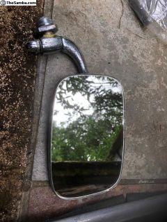 Ghia passenger side view mirror 1966-1974