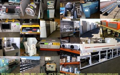 Sandia/Los Alamos National Labs, UNM, NM Tech & Others Public Auction