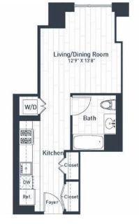 $4980 1 apartment in Jersey City