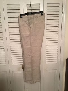Caslon 18W 100% Linen pants. Nordstrom. NWT. Pick up at Target in McCalla on Thursday s 5:15 - 6:00