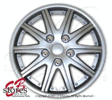 """Sell Hubcaps Style#027 14"""" Inches 4pcs Set of 14 inch Rim Wheel Skin Cover Hub cap motorcycle in La Puente, California, US, for US $26.95"""