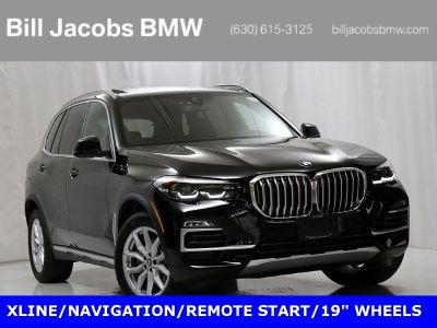 2019 BMW X5 xDrive40i (Jet Black)