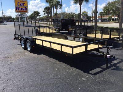 2018 Triple Crown 7X20 Utility Trailer Utility Trailers Fort Pierce, FL