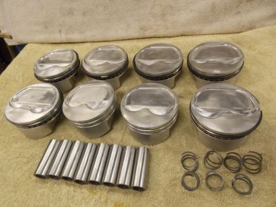 Wiseco 350 chevy dish Pistons K014A3 6014A3 4.030 1.25 CH