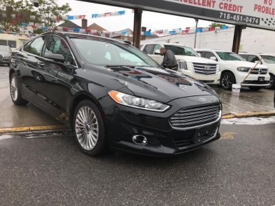 2016 Ford Fusion 4dr Sdn Titanium FWD (Shadow Black)