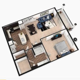Apartment for rent 1 bed/1 bath