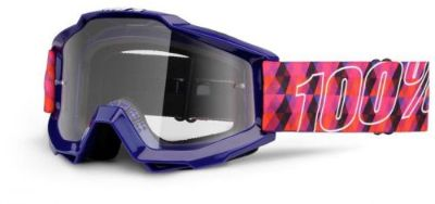 Purchase 100% Accuri Sultan MX Offroad Goggles Clear Lens motorcycle in Holland, Michigan, United States, for US $45.00
