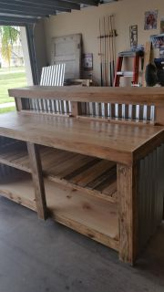 Custom Rustic Checkout Counter or Bar