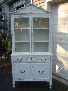 darling ViNtAgE shabby chic china cupboard