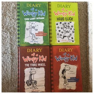 Diary of a Wimpy Kid Hard Back Books