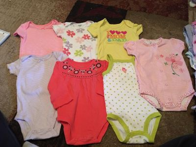 Lot 7 carters 6m onesies - ppu (near old chemstrand & 29) or PU @ the Marcus Pointe Thrift Store (on W st)