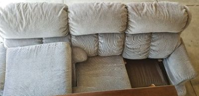 Free- Couch, kids bed, dresser and entertainment console