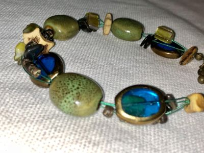 EUC Bracelet about 9.5 from end to end