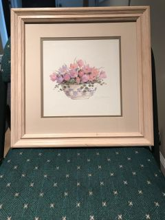 Framed/matted picture