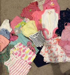 Carters 6 month summer lot